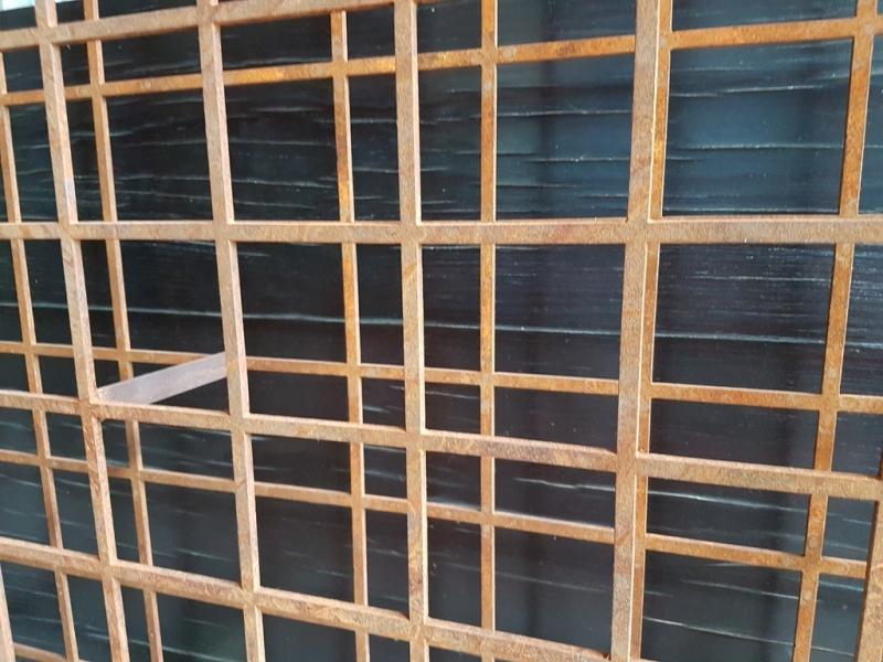 Aços Corten Estruturais Baixo Guandu - Aço Corten Perfurado