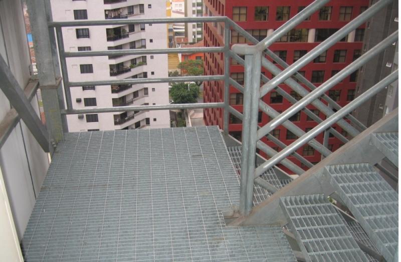 Comprar Escada em Aço Galvanizado Barra de São Francisco - Escada de Aço Corten