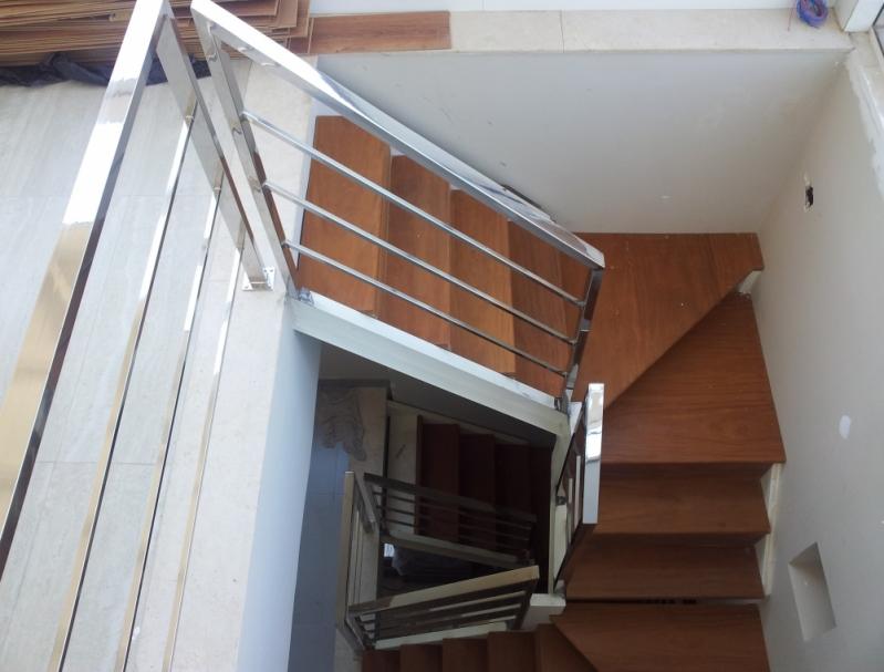 Corrimões de Aço Inox Cariacica - Corrimão para Escada de Inox