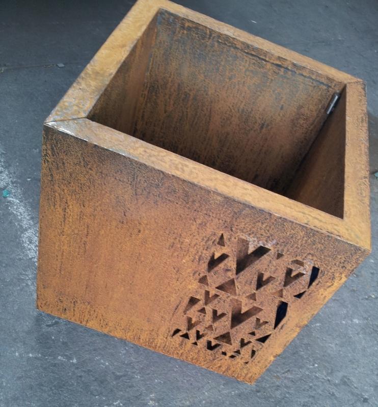 Empresa de Aço Corten Textura Vila Pavão - Aço Corten para Fachada