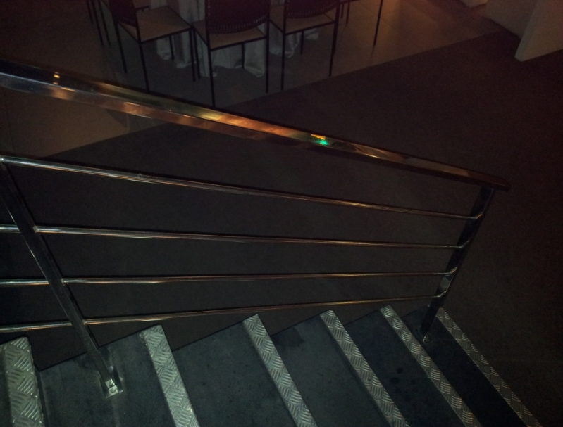 Escada em Aço Inox Viana - Escada de Aço Corten