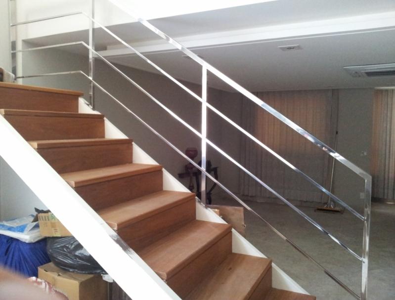 Procuro por Corrimão de Aço Inox Itapemirim - Corrimão de Escada em Inox