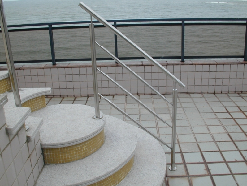Procuro por Corrimão de Escada em Aço Inox Colatina - Corrimão de Inox para Piscina