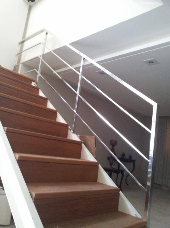 Procuro por Corrimão de Inox Quadrado Barra de São Francisco - Corrimão de Escada em Inox