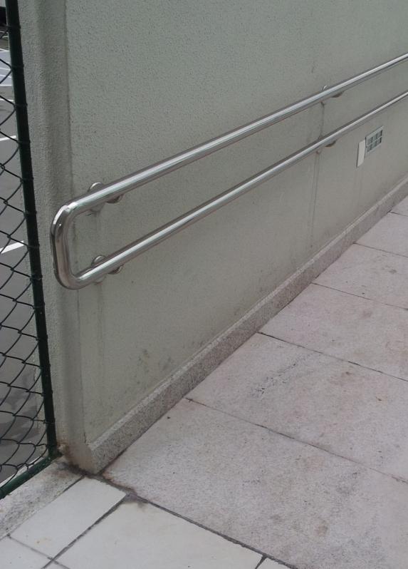 Procuro por Corrimão de Parede em Aço Inox Águas Formosas - Corrimão de Escada em Inox