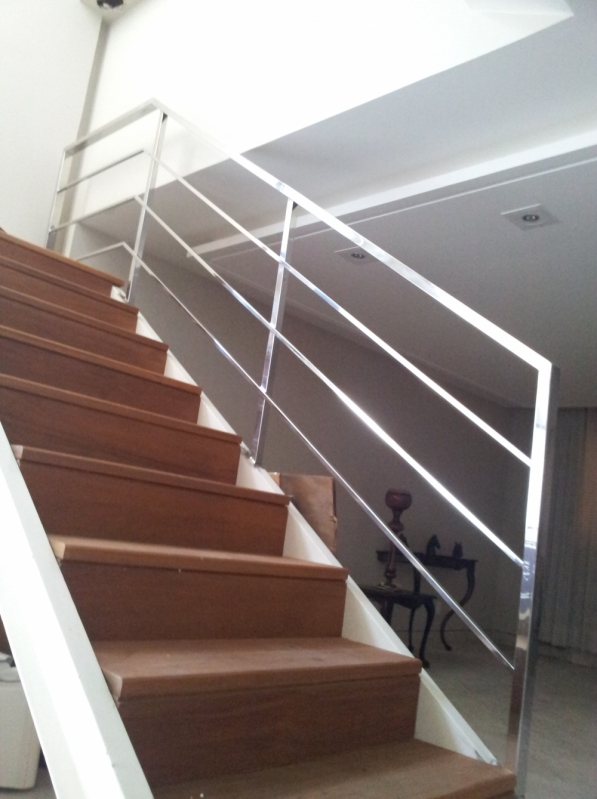 Quanto Custa Escada em Aço Corten Barra de São Francisco - Escada de Aço Inox