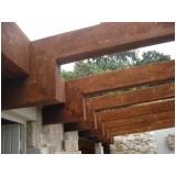 aço corten estrutural Pancas