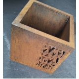 aço corten vazado valor Baixo Guandu