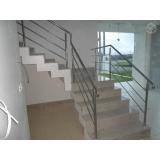 corrimão de escada em aço inox Nova Venécia