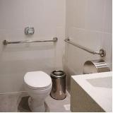 corrimão em inox para banheiro Águas Formosas