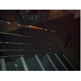 escada de aço inox Vila Valério