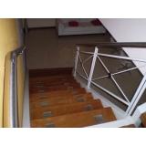 escada em aço corten preço Vila Valério