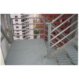 escada em aço galvanizado