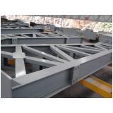 estrutura metálica cobertura orçamento Vila Valério