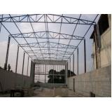 estrutura metálica para garagem orçamento Marilândia