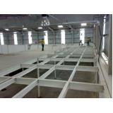 estrutura metálica para mezanino orçamento Domingos Martins