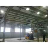 estrutura metálica para telhado Baixo Guandu