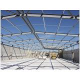 estruturas metálicas para telhado Viana