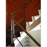 fabricante de corrimão de escada em aço inox Nova Venécia