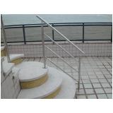 procuro por corrimão de escada em aço inox Lajinha