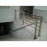 procuro por corrimão para escada de inox Serra